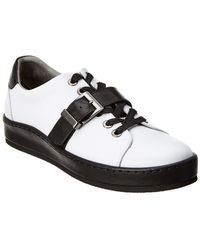 Karl Lagerfeld - Classic Leather Platform Sneaker - Lyst