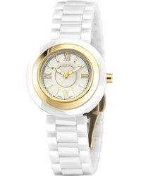 Alor - Stainless Steel Roman Markers White Dial Watch, 32mm - Lyst
