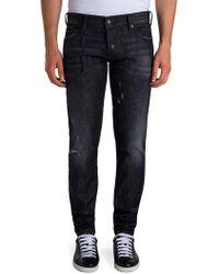 Viktor & Rolf - Skinny Distressed Jeans - Lyst