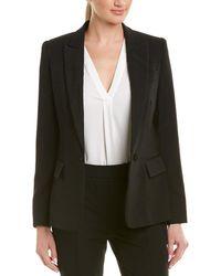 Stella McCartney - Solid Silk-lined Wool Blazer - Lyst