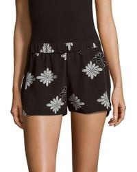 Equipment - Landis Floral-printed Shorts - Lyst