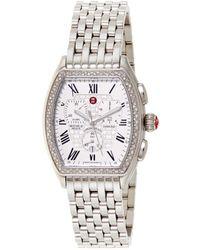 Michele - Releve Diamond Watch - Lyst