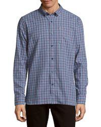 Victorinox - Glogghus Check Button-down Shirt - Lyst
