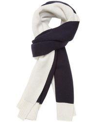 "Proenza Schouler   Knit Bicolor Wool Long Scarf, 88"" X 20""   Lyst"