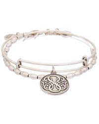 ALEX AND ANI - Path Of Life Set Of 2 Bangles - Lyst