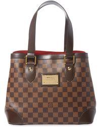 Louis Vuitton - Vintage Damier Ebene Hampstead Pm Bag - Lyst