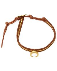Chan Luu - Knotted Leather Bracelet - Lyst