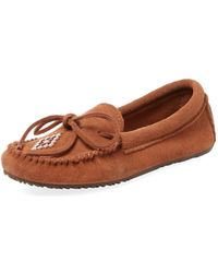 Manitobah Mukluks - Canoe Suede Moccasin - Lyst