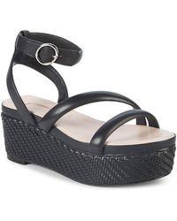 Avec Les Filles - Ava Leather Platform Sandals - Lyst