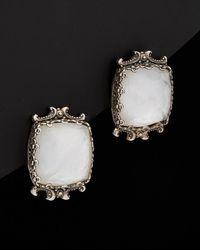Konstantino - Aura Silver 12.00 Ct. Tw. Gemstone Doublet Earrings - Lyst