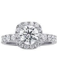 Diana M. Jewels . Fine Jewellery 18k 2.46 Ct. Tw. Diamond Ring