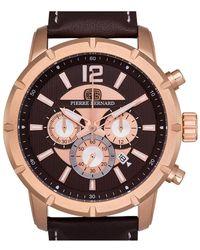 Pierre Bernard Men's Steeplechase Watch