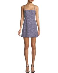 French Connection - Floral Mini Dress - Lyst