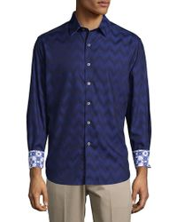 Robert Graham - Airfield Road Cotton Casual Button-down Shirt - Lyst