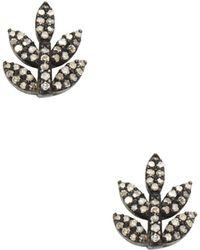 Karma Jewels - 14k Yellow Gold Earrings - Lyst