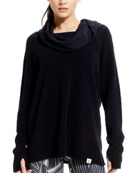 Vimmia - Long Sleeve Warmth Cowl Neck Tee - Lyst