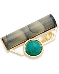 Nocturne - Robin Marble Ring - Lyst
