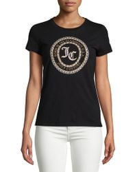 Juicy Couture - Seal Of Couture Class Cotton Tee - Lyst
