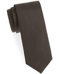 Eton of Sweden - Dot-print Silk Tie - Lyst