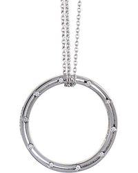Damiani - 18k 0.18 Ct. Tw. Diamond Necklace - Lyst