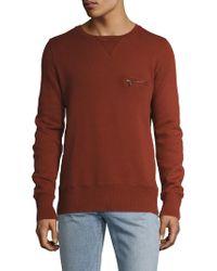 Nudie Jeans | Zip Pocket Sweater | Lyst