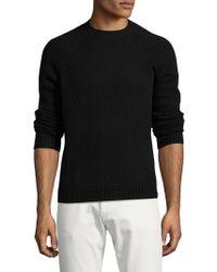 Brooks Brothers Red Fleece - Solid Shetland Crewneck Sweater - Lyst