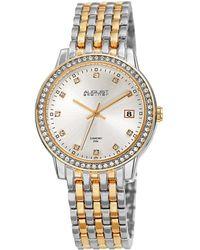 August Steiner - Women's Alloy Watch - Lyst
