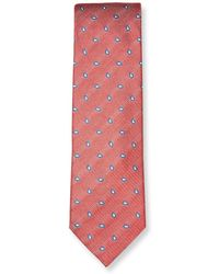 Ermenegildo Zegna - Paisley Embroidered Silk Tie - Lyst