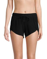 Betsey Johnson - Knit Performance Shorts - Lyst