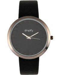 Simplify - Unisex The 6000 Watch - Lyst