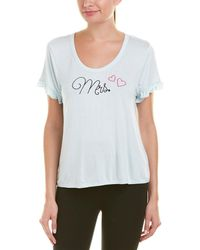 Betsey Johnson - Blue By Embroidered T-shirt - Lyst