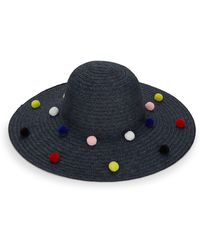 BCBGeneration - Funfetti Pom-pom Sun Hat - Lyst