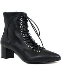 Archive Shoes Jane Leather Bootie