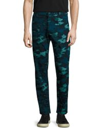 AG Green Label - Graduate Slim Trousers - Lyst