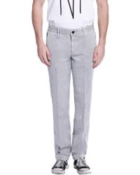 Earnest Sewn - Elliot Cotton Pants - Lyst
