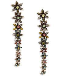 Cara - Daisy Linear Earrings - Lyst