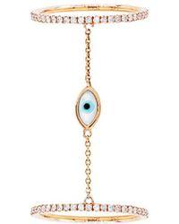 Diana M. Jewels - . Fine Jewelry 14k Rose Gold 0.55 Ct. Tw. Diamond Ring - Lyst