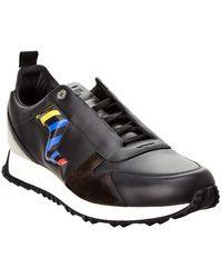Fendi - Leather & Suede Sneaker - Lyst