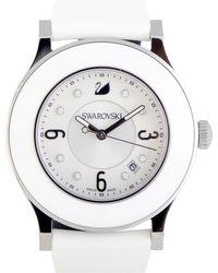 Swarovski - Women's Rubber Watch - Lyst