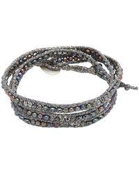 Chan Luu | Metallic Straps & Beads Bracelet | Lyst