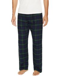Ben Sherman | Plaid Brushed Flannel Pajama Pant | Lyst