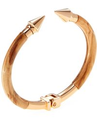 Vita Fede - Mini Titan Wood Open Bangle - Lyst