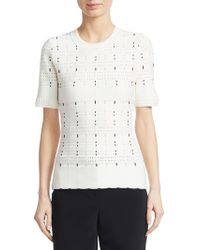 Yigal Azrouël - Multicolour Cording Stitch Top - Lyst