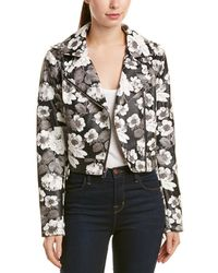 Sam Edelman - Floral Starbust Moto Jacket - Lyst
