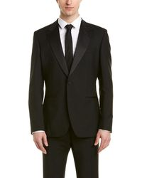 Reiss - Mayfair Modern Fit Wool & Mohair-blend Suit With Flat Front Pant - Lyst