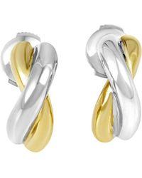 Poiray - 18k Two-tone Drop Earrings - Lyst