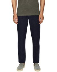 Etro - Linen Solid Slim Jeans - Lyst