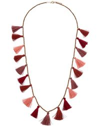 Kenneth Jay Lane - 22k Plated Resin 36in Necklace - Lyst