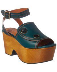 Derek Lam - Zaria Leather Sandal - Lyst