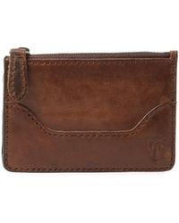 Frye - Leather Card Holder - Lyst